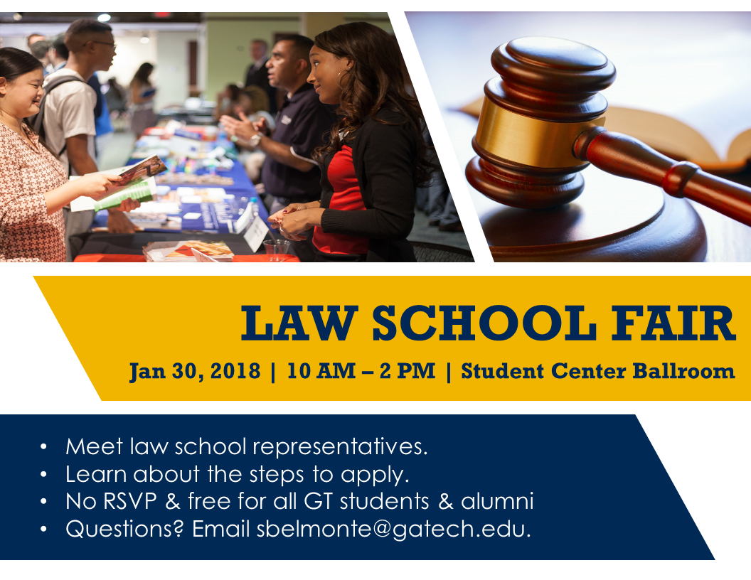 Georgia Tech Law School Fair | C2D2 | Georgia Institute of ...
