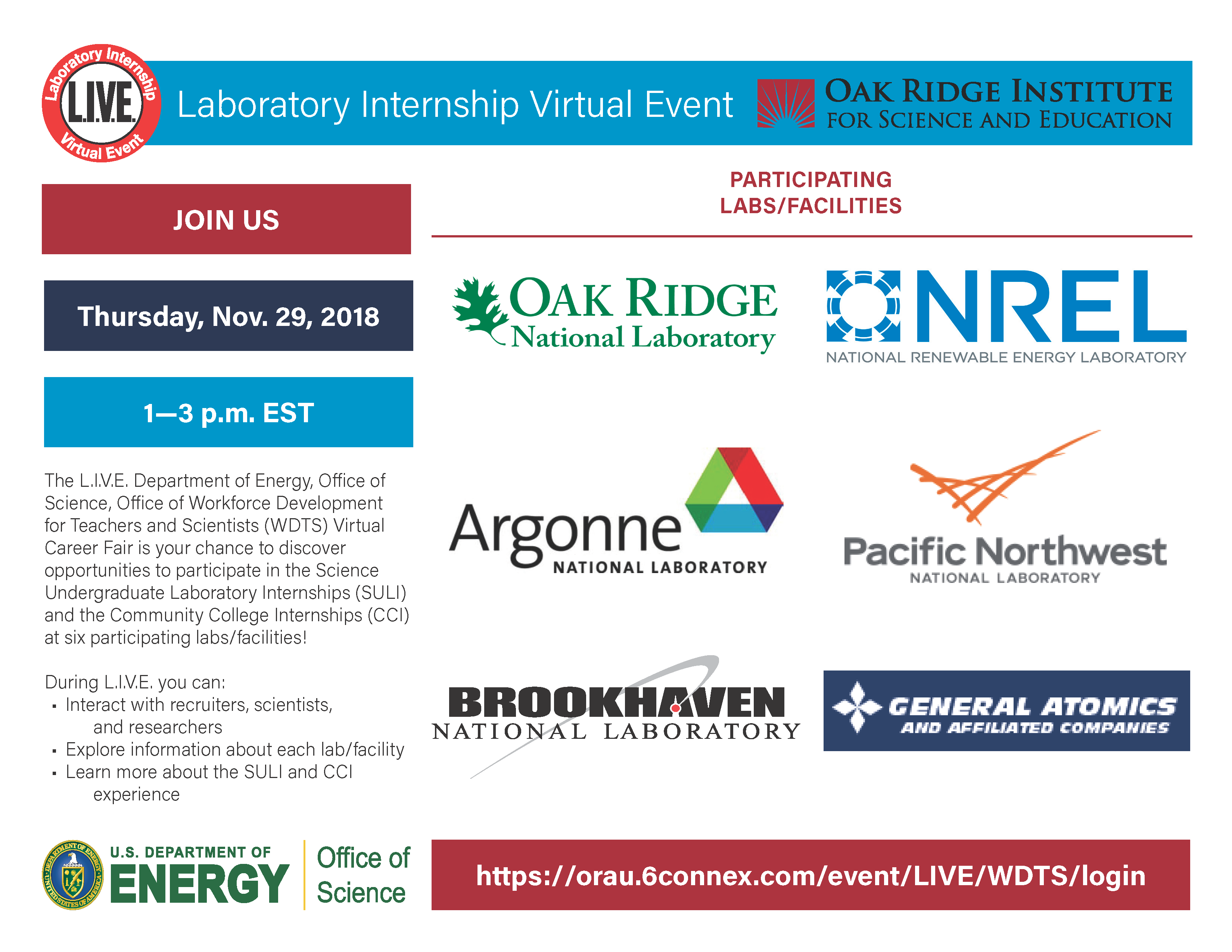 Laboratory Internship Virtual Career Fair C2d2 Georgia