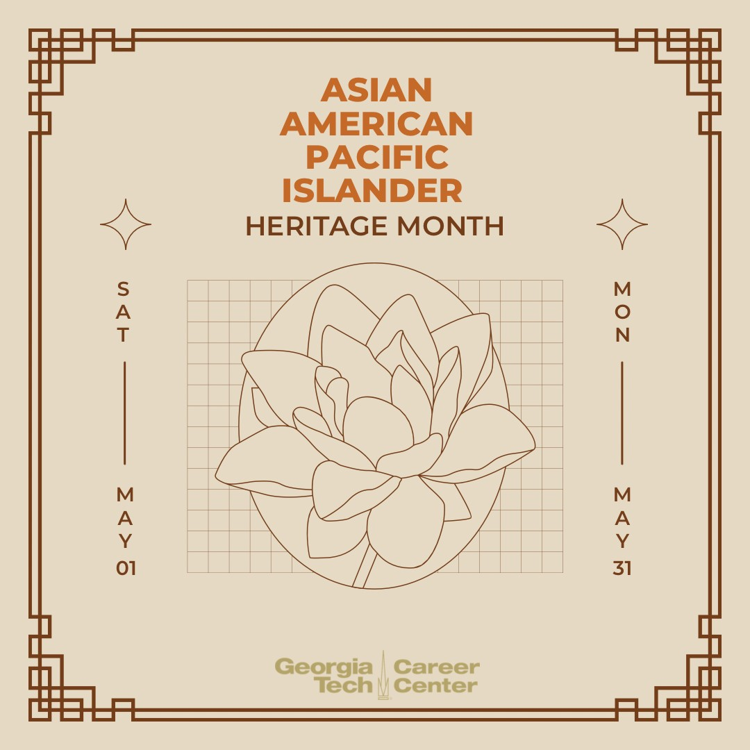 Asian Pacific Heritage Month banner